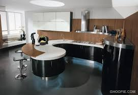 modern curved kitchen island. Modern Italian Kitchen Design Curved Island Bar Stool