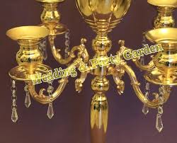 free gold wedding table crystal chandelier wedding flower vase event party decoration in candle holders from home garden on image concept