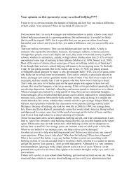 essay on school bullying school shooting bullying