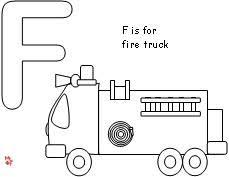 Small Picture Image detail for preschool fire truck coloring pages preschool