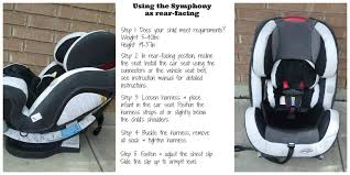 evenflo symphony 65 dlx all in one car seat fallingforbaby rh thriftyniftymommy com evenflo car seat instruction manual evenflo nurture infant car seat