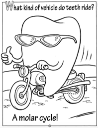Small Picture Dental Coloring Pages for Children Dr Tom Conner DDS