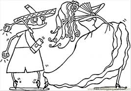 Small Picture Spanish Couple Of Dancers Coloring Page Free Spain Coloring