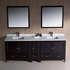 double sink vanity. fresca bath fvn20-361236es oxford 84\ double sink vanity
