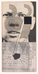 Ray Johnson, Untitled (Ray Johnson with Dina Merrill), 19…