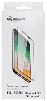 <b>Защитное стекло Red Line</b> 3D Full Screen для Apple <b>iPhone</b> X/XS ...
