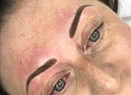 semi permanent make up glasgow transformed eyebrows reshaped