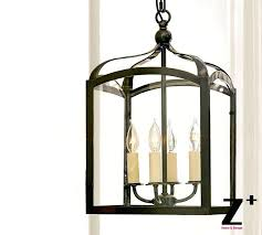 replica item led pendant light iron gothic indoor outdoor lantern country style iron 4 lights lamp