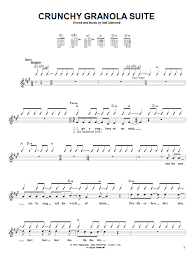 Neil Diamond Crunchy Granola Suite Sheet Music Notes Chords Download Printable Guitar With Strumming Patterns Sku 50061