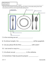 Collections of Spanish Worksheets Free, - Easy Worksheet Ideas