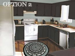 Painted Black Kitchen Cabinets Kitchen Cabinet Repainting Kitchen Cabinets Engaging How To