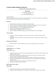 Graphic Designer Cv Freelance Resume Examples Example Web Samples ...