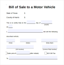 General Bill Of Sale Template Stunning 48 As Is Bill Of Sale Form Sample Paystub