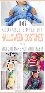 16 adorable simple diy costumes