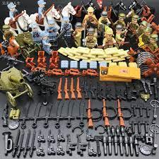 Bộ Đồ Chơi Lắp Ráp Lego Phong Cách Quân Đội