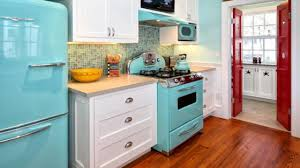 Retro Kitchen Appliance Yellow Bathroom Ideas Paint Kitchen Appliances Retro Kitchen