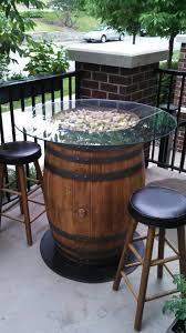 40 best wooden barrel ideas images on wine barrels oak barrel furniture