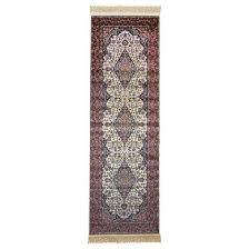 persian rug size 67x210cm color cream material viscose