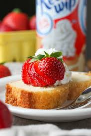 Whipped Cream Pound Cake Cookies And Cups