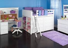 kids beds with storage for girls. Delighful With White Kids Beds With Storage For Girl Home Interiors Stylish Property Children  Decor Throughout Girls I