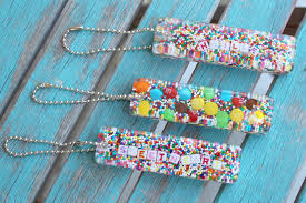 top 10 project posts on resin crafts blog 10 diy candy sprinkles resin keychain