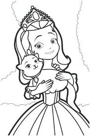 Sophia Coloring Pages Princess Printable Coloring Pages Amazing