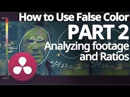 How To Use False Color Analyzing Footage And Ratios Part 2