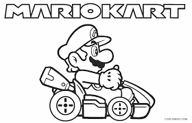 Mario coloring pages helps kids and adults love their favorite game characters even more. Free Printable Mario Kart Coloring Pages For Kids