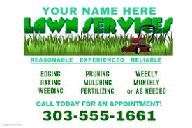 Lawn Mowing Ads Lawn Care Template Flyer 2 Per Page By Vertex42 Com Flyers