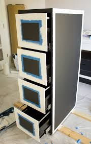 cabinet painting ideasFile Cabinet Makeover  Design Improvised