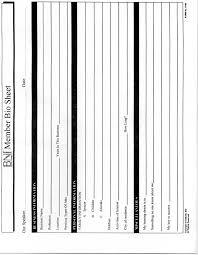 bni bio sheet