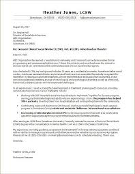 Cover Letter Template Social Work Cover Letter Template