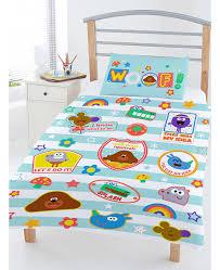 hey duggee woof junior toddler duvet cover bedding set
