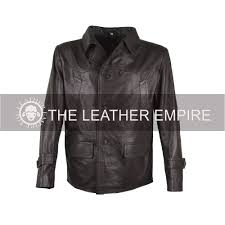 german submarine leather jacket cafe racer jacket fashion