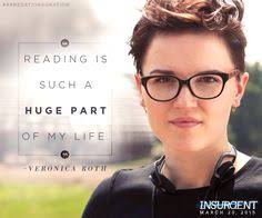 i love veronica roth she is such an amazing author