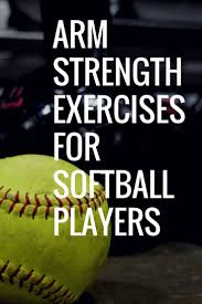 gain arm strength with better softball players