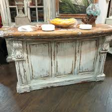 french distressed furniture. French Kitchen Island Table Distressed Country Bar Counter Majestic Fog Corbels Furniture: Full Size Furniture