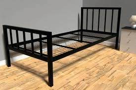Strong King Size Bed Frame Ideas Metal Extra Sturdy Queen ...
