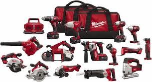 milwaukee m18 tools. milwaukee - m18 lithium-ion 15-tool combo kit 2695-15 executive anvil logo tools