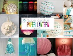 Diy Paper Lanterns 15 Stunning Diy Paper Lanterns And Lamps Step By Step K4 Craft