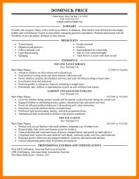 10 Part Time Jobs Resume Mla Cover Page