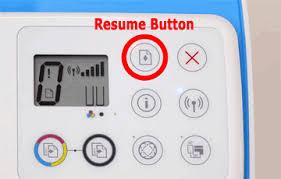Resume-button