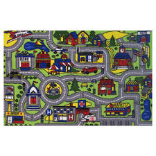 fun rugs fun time driving time multi 4 ft x 7 ft area rug