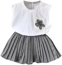 Baby Girl Dress <b>2019 Summer</b>  <b>Kid Sleeveless</b> Floral Vest Tops T ...