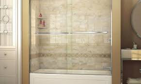bathtub shower doors tub frameless ing bath aqua best kohler door bypass hinged glass tubshower