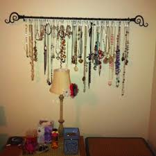 So now that you know what I'm up to, I'll show you how I made my necklace  rack so that you can make one for yourself!