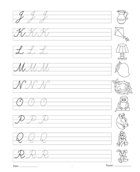 Collection of Solutions Az Cursive Writing Worksheets Printable With Letter