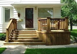 premade wooden steps prefab outdoor stairs wood