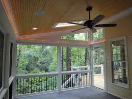 sunroom lighting ideas. Raleigh Screen Porch Rope Lighting From Cary Deck Sunroom Ideas