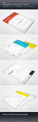 38 invoice templates psd docx indd psdtemplatesblog minimal invoice template pack